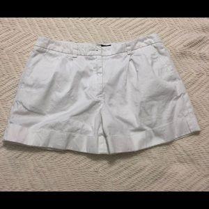 White Short —by L.L. bean — size 4